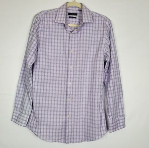 Marc Anthony Lavender Dress Shirt Men Size 15